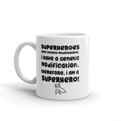 I am a Superhero Coffee Mug