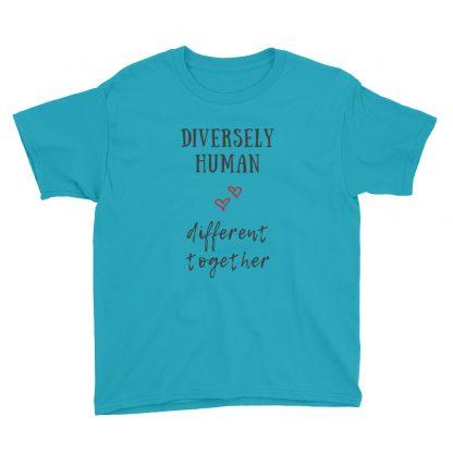 Diversely Human Logo Kids T-Shirt