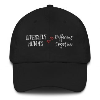Diversely Human Logo Embroidered Hat