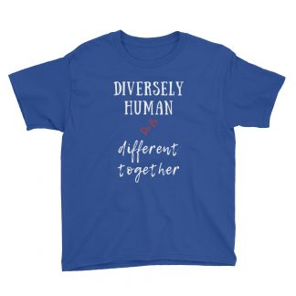 Diversely Human Logo Kids T-Shirt