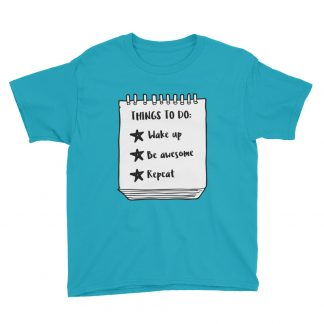Things to do Kids T-Shirt