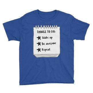 Things to do Kids T-Shirt