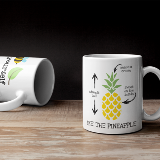 Be the Pineapple Coffee Mug
