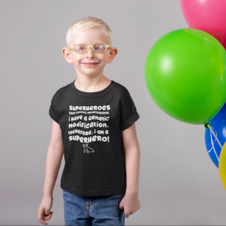 I am a Superhero Kids T-Shirt Dark
