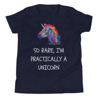 So Rare, I'm Practically A Unicorn Kids T-Shirt