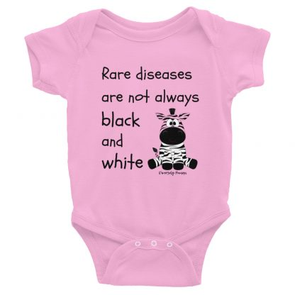 Rare Diseases Are Not Always Black and White Infant Bodysuit