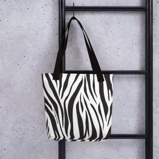Rare Disease Zebra Tote Bag