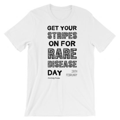 Get Your Stripes On For Rare Disease Day T-Shirt