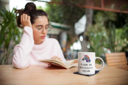 So Rare, I'm Practically a Unicorn Coffee Mug