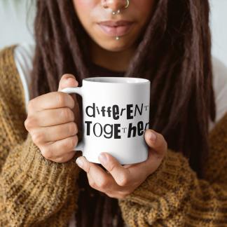 Different Together Coffee or Tea Mug