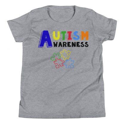 Autism Awareness Kids Puzzle T-Shirt
