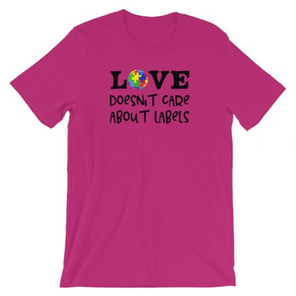 Love doesn't care about labels T-Shirt
