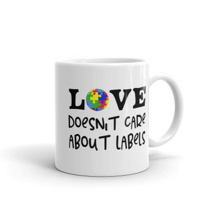 Love doesn't care about labels – Mug