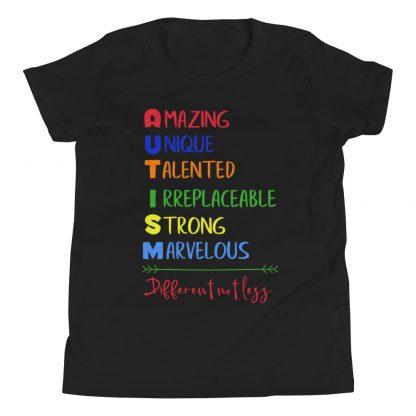 Autism – Different not less Kids T-Shirt