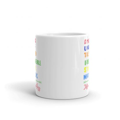 Autism – Different not less Mug