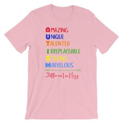 Autism – Different not less T-Shirt