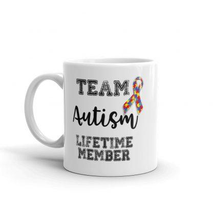 Team Autism – Lifetime Member Mug