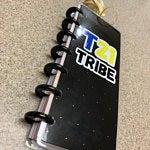 T21 tribe customer sticker